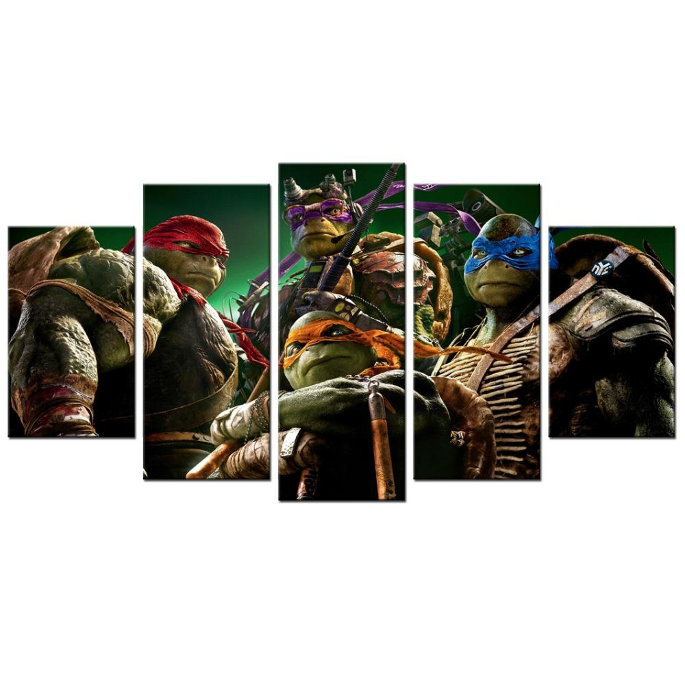 Online Get Cheap Tmnt Wall Art  Aliexpress | Alibaba Group For Tmnt Wall Art (Image 11 of 20)