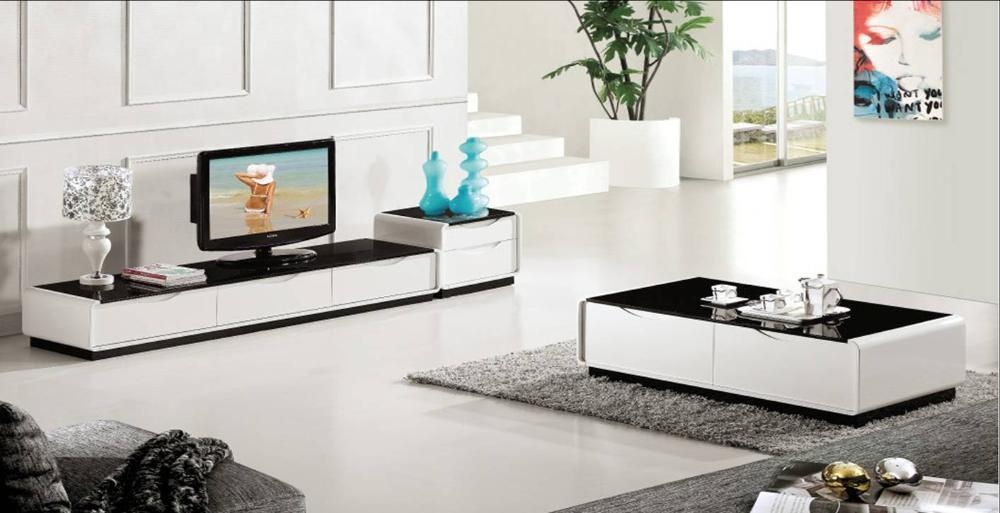 Online Get Cheap Tv Table Modern White  Aliexpress | Alibaba Group Intended For Most Current Cheap Tv Tables (Image 20 of 20)