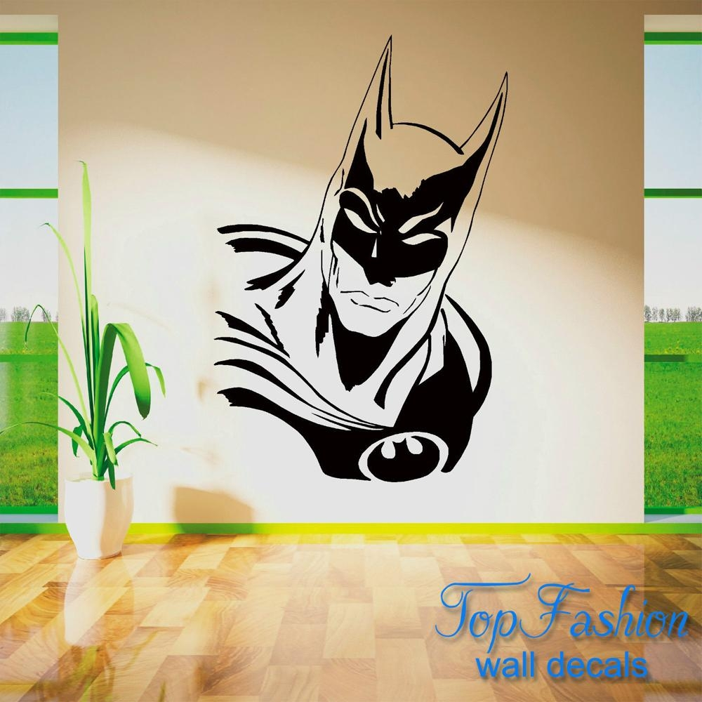 Online Get Cheap Wall Art Stickers Superhero  Aliexpress In Superhero Wall Art Stickers (Image 11 of 20)