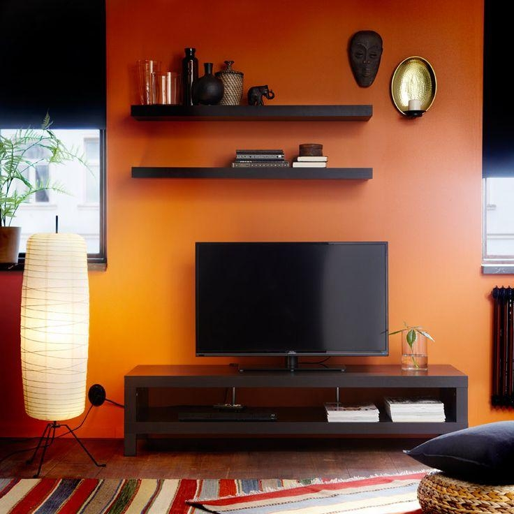 Orange And Blackish/brown. I Love It (View 17 of 20)