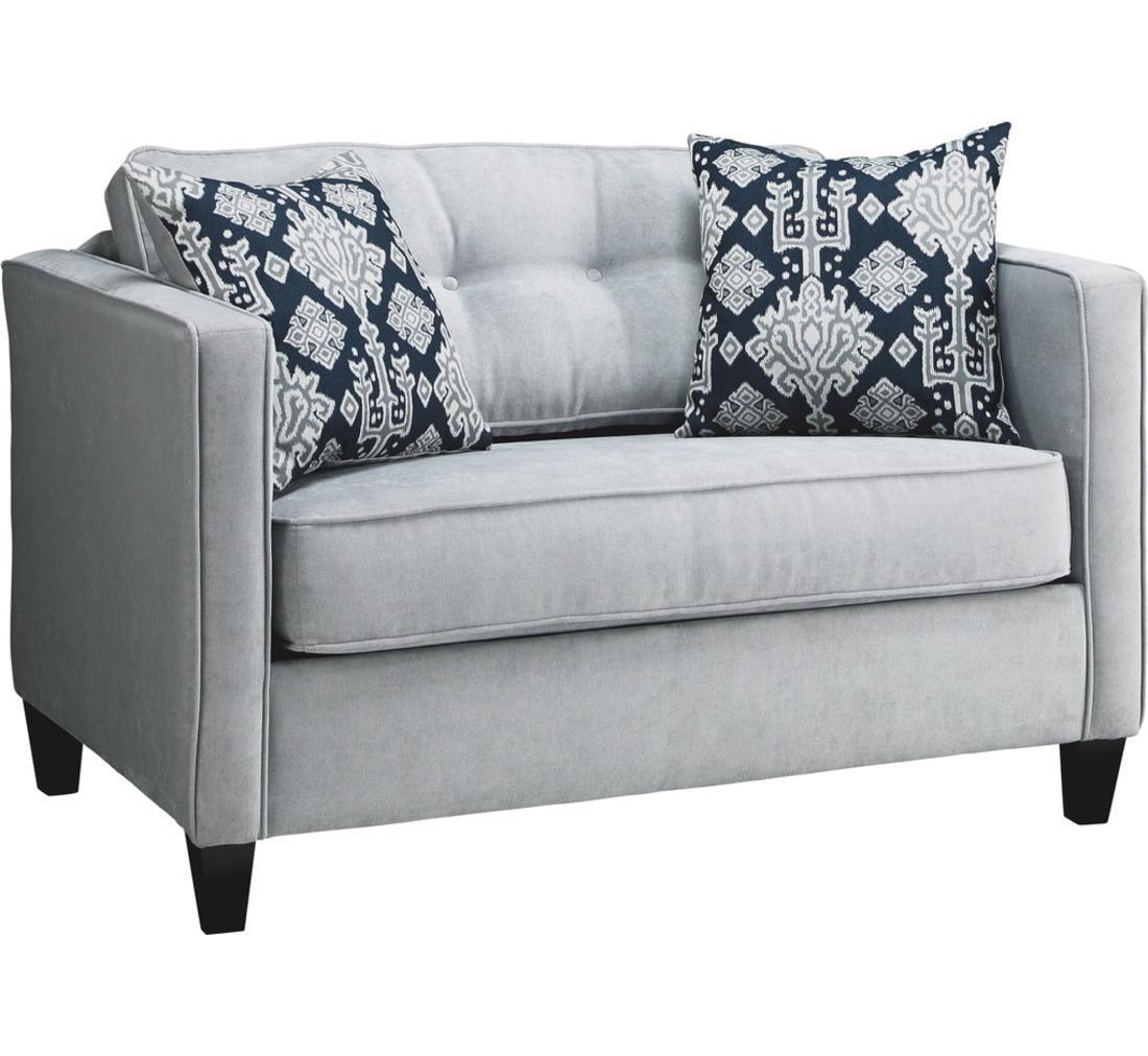 Orian Twin Sleeper Sofa | Badcock &more With Loveseat Twin Sleeper Sofas (Image 11 of 20)