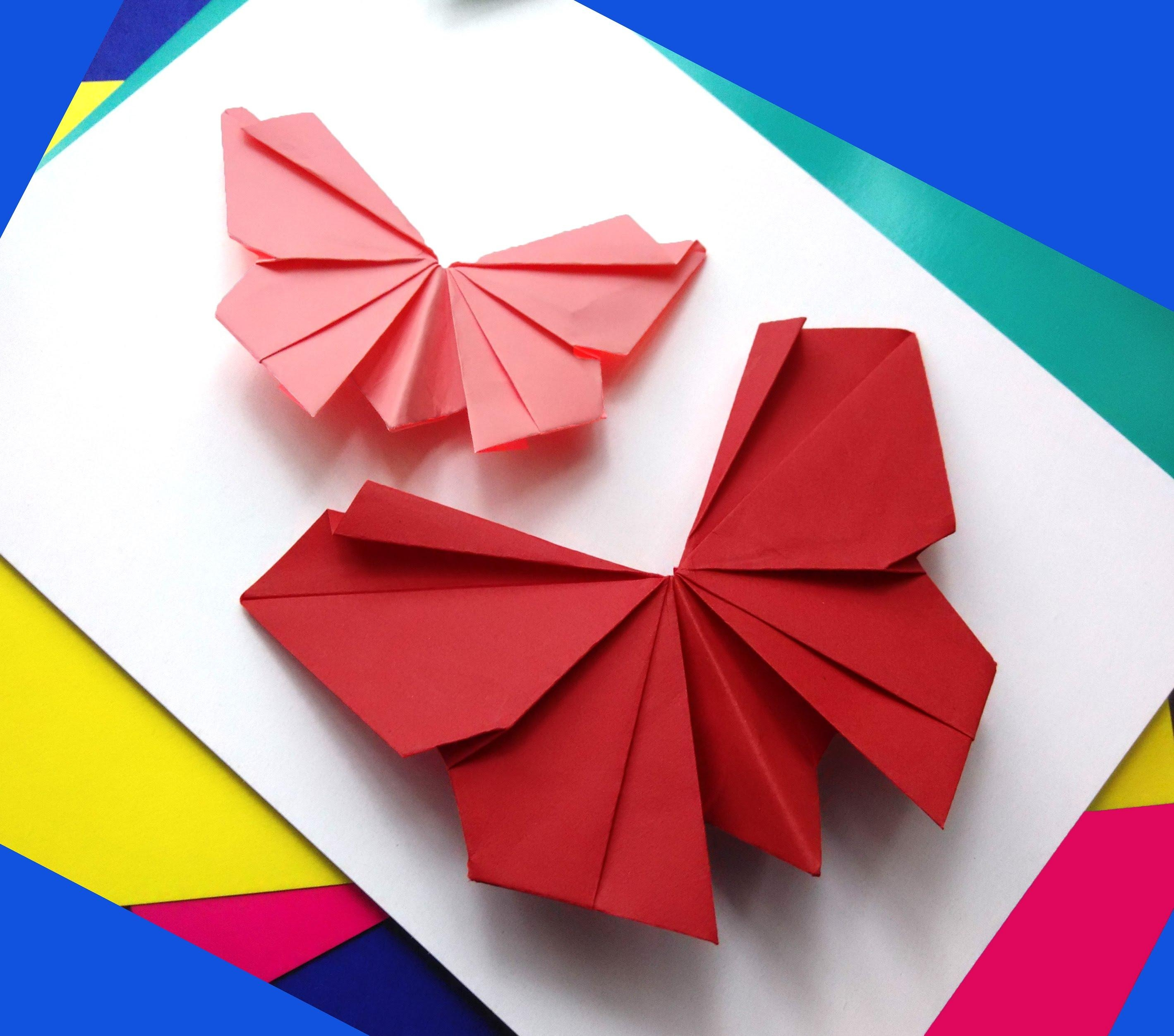 Origami Butterfly – Easy To Do (Image 14 of 20)