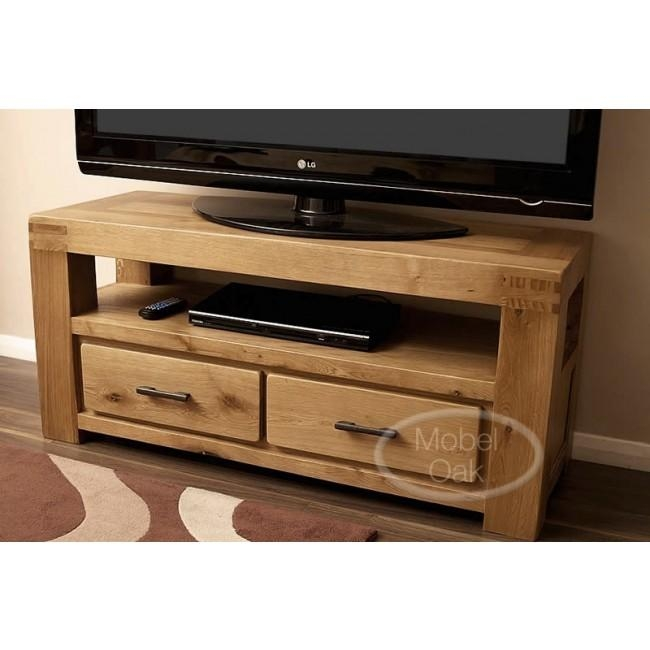 Oslo Rustic Oak Tv Stand Cabinet | Best Price Guarantee With Recent Rustic Oak Tv Stands (View 11 of 20)