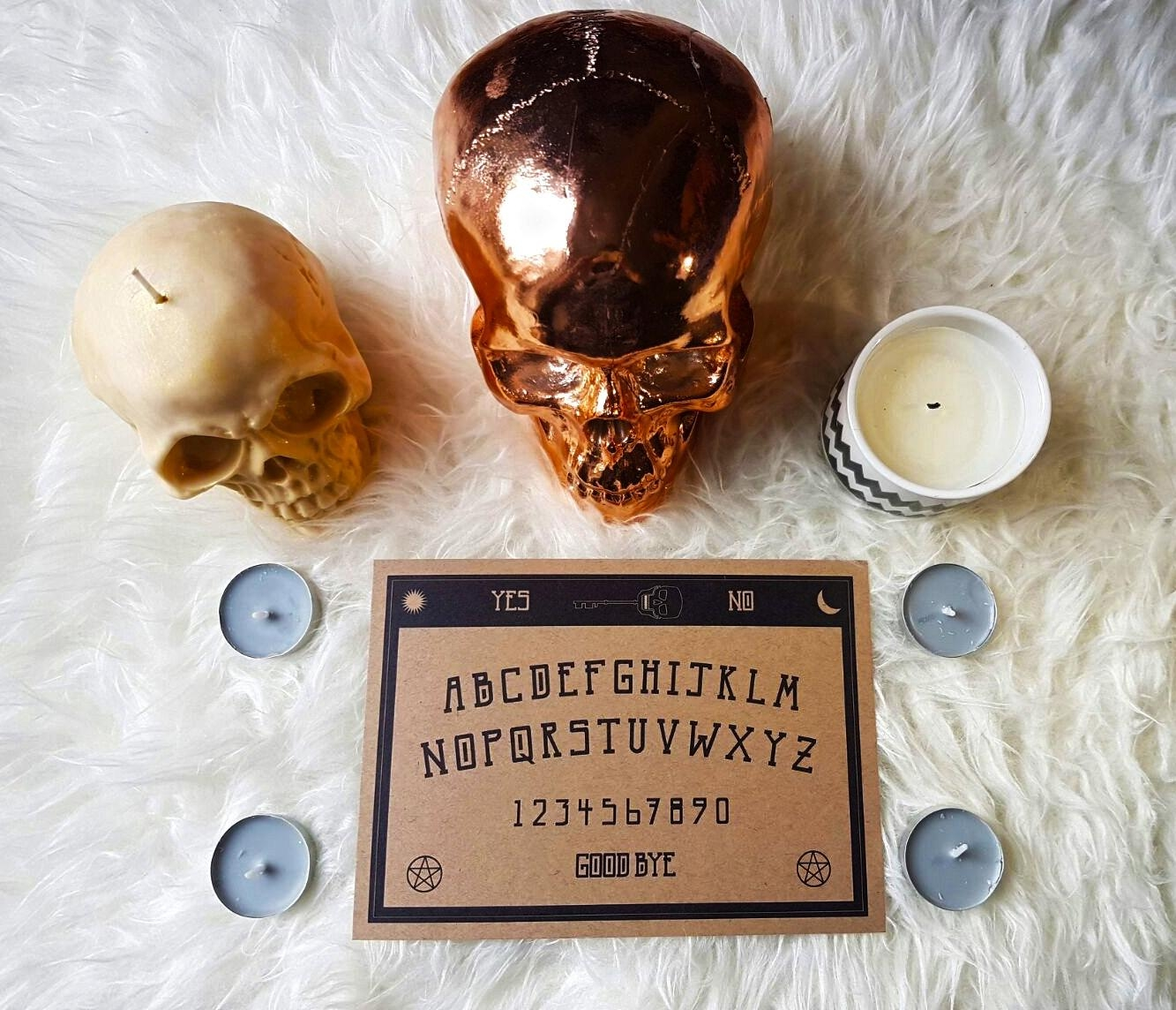 Ouija Board Wall Art Print A5 148Mm X 210Mm Original Intended For Ouija Board Wall Art (View 14 of 20)