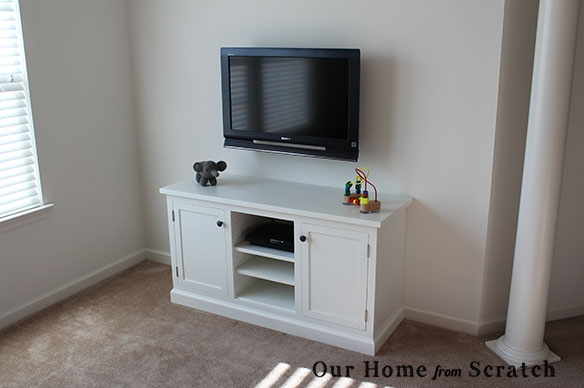 Featured Image of White Painted Tv Cabinets