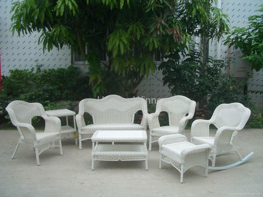 Outdoor Cane Furniture Perfect Charming Home Tips With Outdoor With White Cane Sofas (Image 16 of 25)