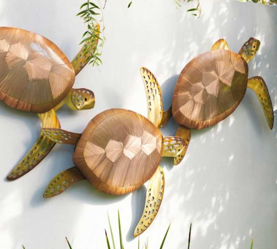 Outdoor Metal Turtle Wall Art Ideas | Home Interior & Exterior For Outdoor Metal Turtle Wall Art (Image 7 of 20)