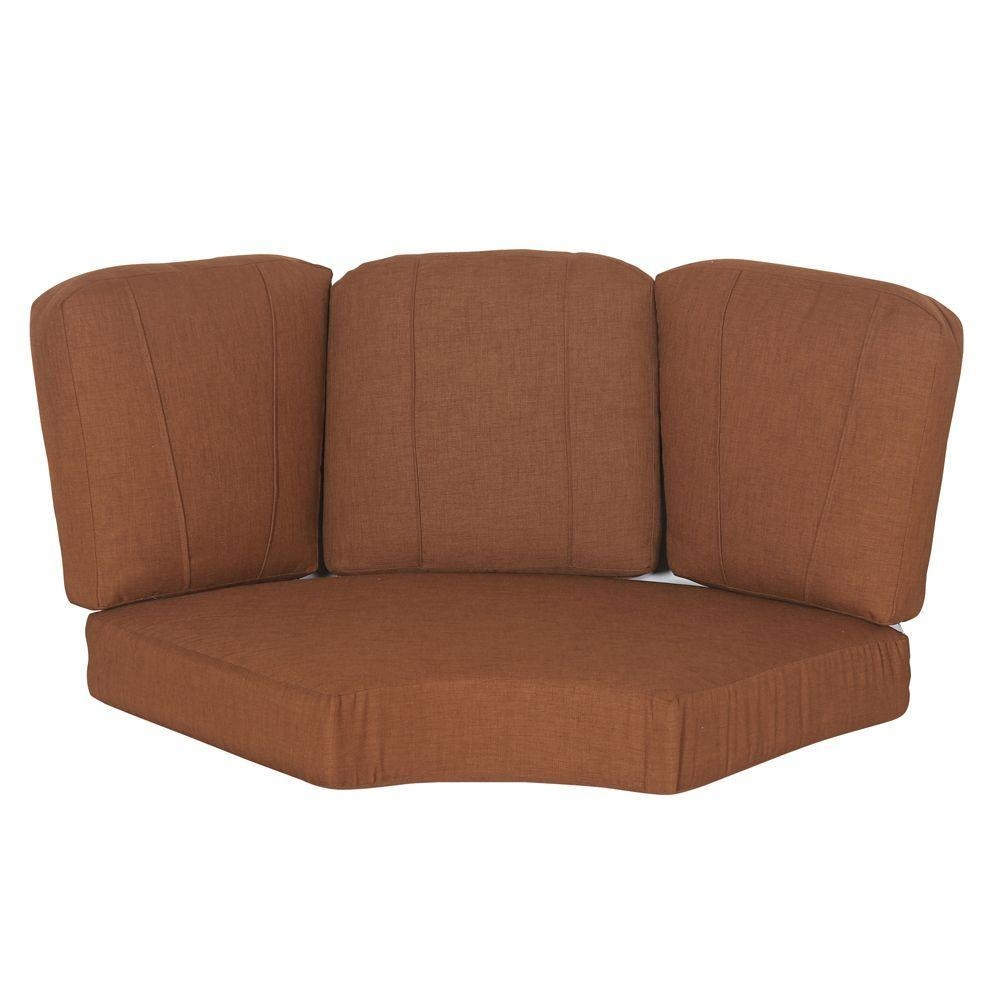 Outdoor Sofa Cushions – Sofa & Loveseat Cushions – The Home Depot Intended For Sofa Cushions (View 20 of 21)