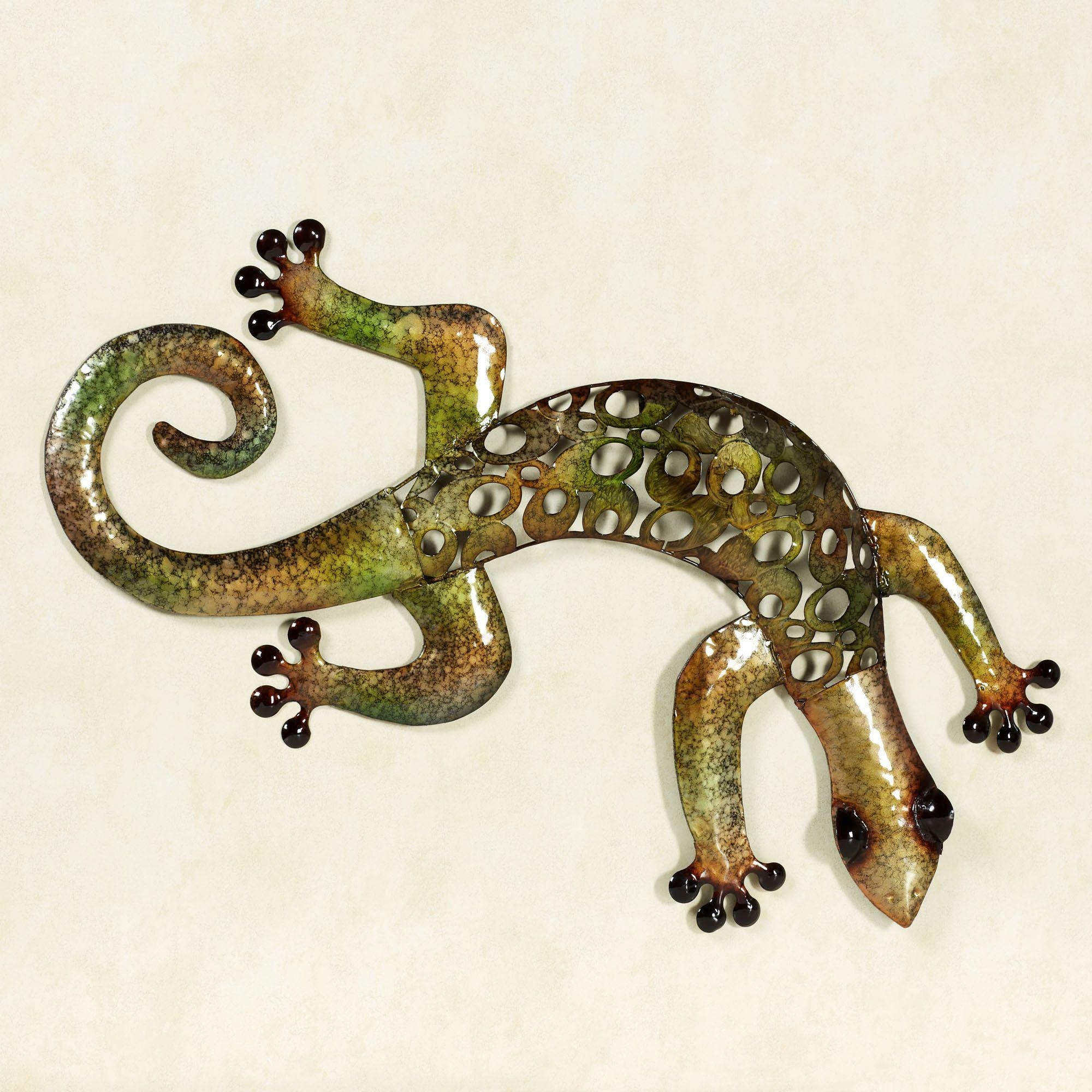 Gecko Wall Art Stunning 20 Photos Gecko Outdoor Wall Art  Wall Art Ideas Inspiration