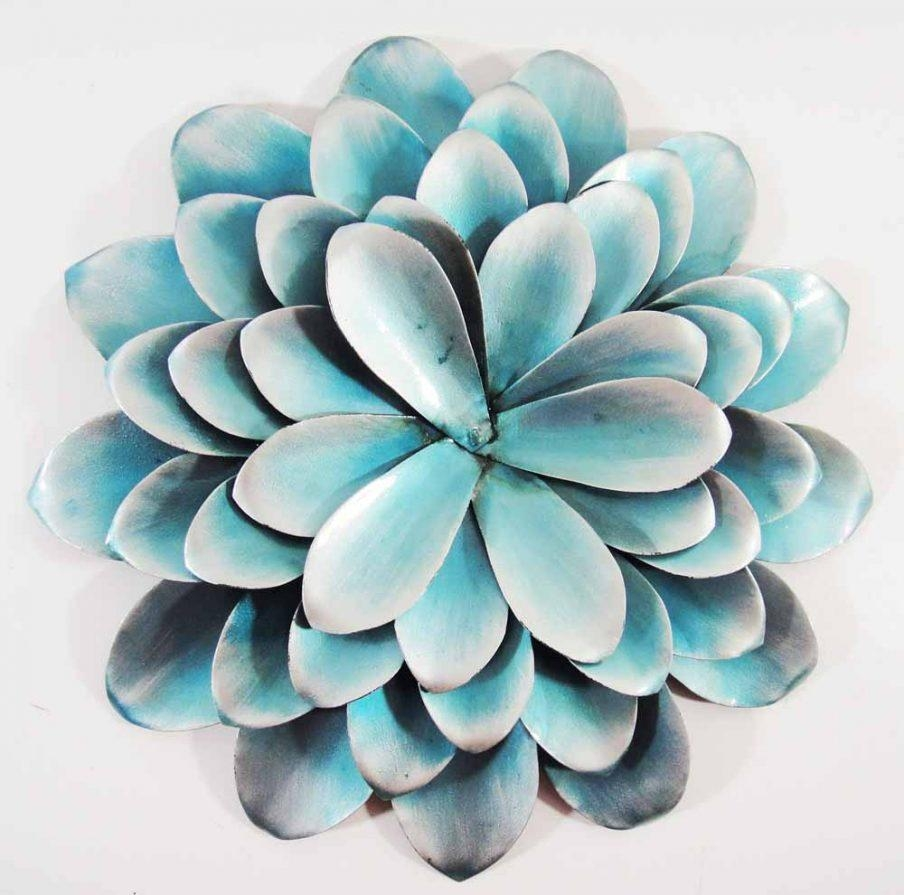 Outstanding Metal Flower Wall Art Pearl Array Wall Art Wall Decor With Teal Wall  Art Uk