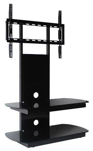 Oval Glass Tv Stand In Most Popular Tv Stand Cantilever (Image 11 of 20)