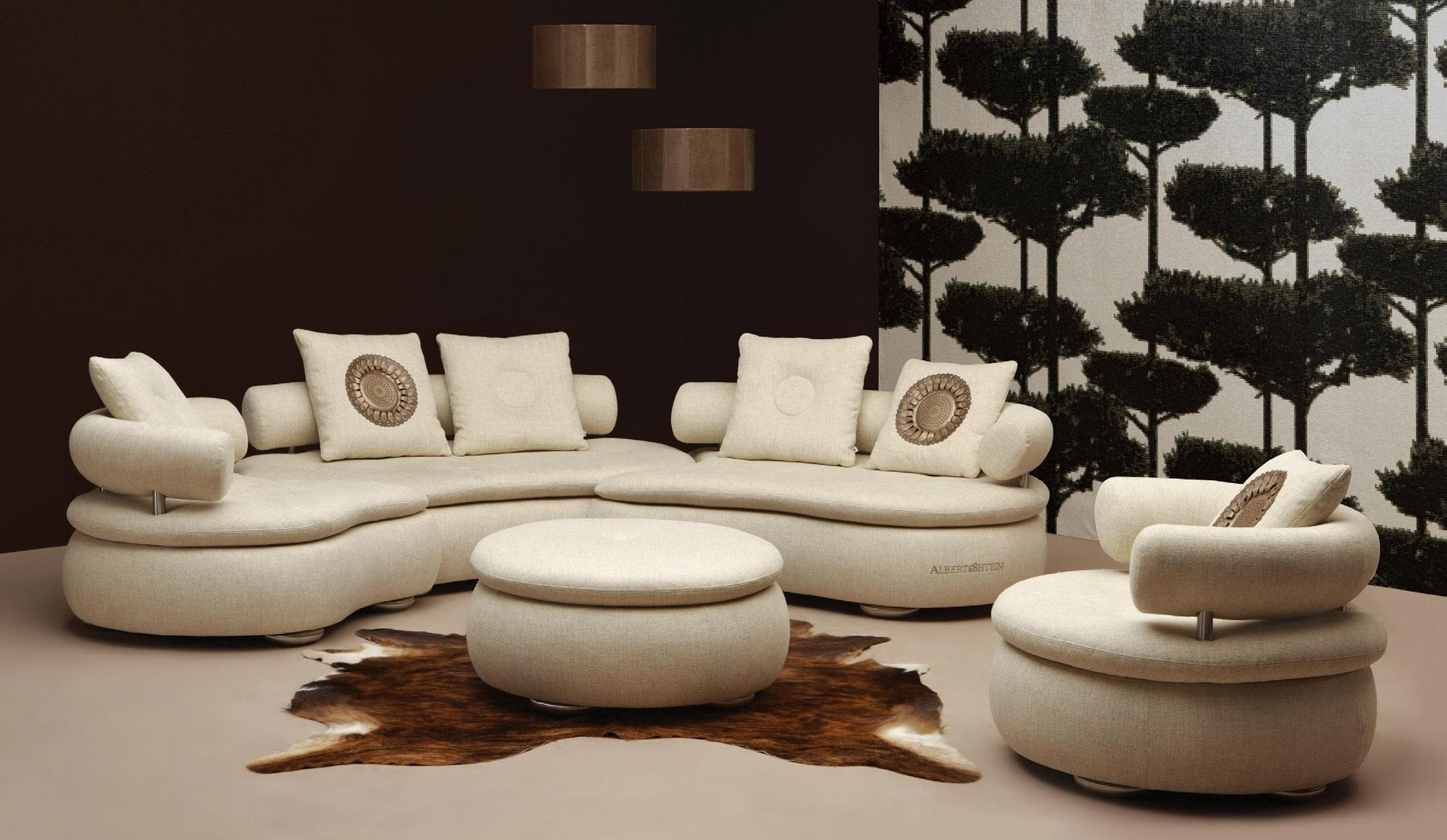 Oval Leather Sectional Sofas Modern Contemporary – S3Net Intended For Oval Sofas (Image 14 of 21)