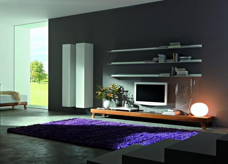 Overwhelming Modern Wall Unit With Huge Plywood Board Splash Back With Regard To 2018 Low Long Tv Stands (View 16 of 20)