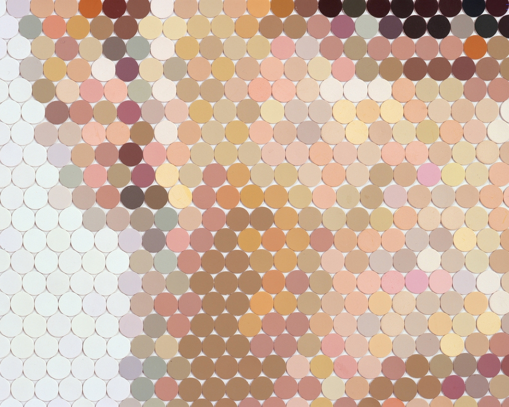 Paint Swatches & Chips: The Art Of Peter Combe « Plenty Of Colour Intended For Paint Swatch Wall Art (View 15 of 20)