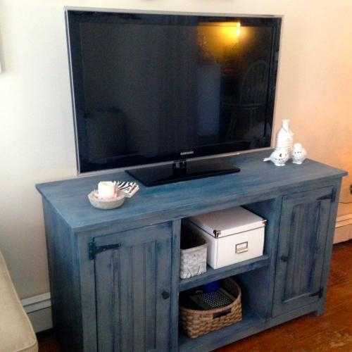 Painted Tv Stand | Forget Them Not Home Decor For Current Painted Tv Stands (View 4 of 20)