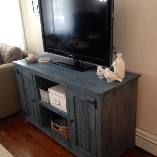 Painted Tv Stand | Forget Them Not Home Decor Inside Current Painted Tv Stands (Image 14 of 20)