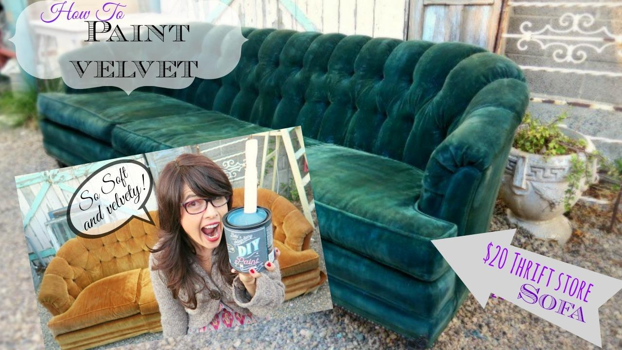 Painted Upholstery | Debis Design Diary In Upholstery Fabric Sofas (Image 12 of 22)