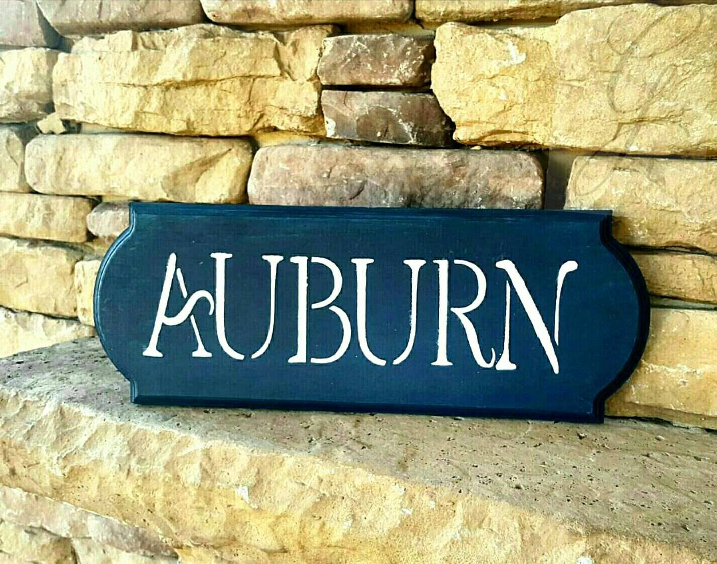 Pallet Art, Reclaimed Wood, Auburn Tigers Sign, War Eagle, Auburn Throughout Auburn Wall Art (View 13 of 20)