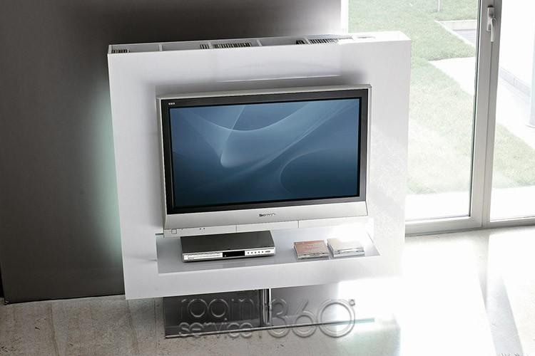 Panorama Designer Swivel Tv Standby Gino Carollo For Bonaldo Intended For Most Recently Released Panorama Tv Stands (Image 10 of 20)