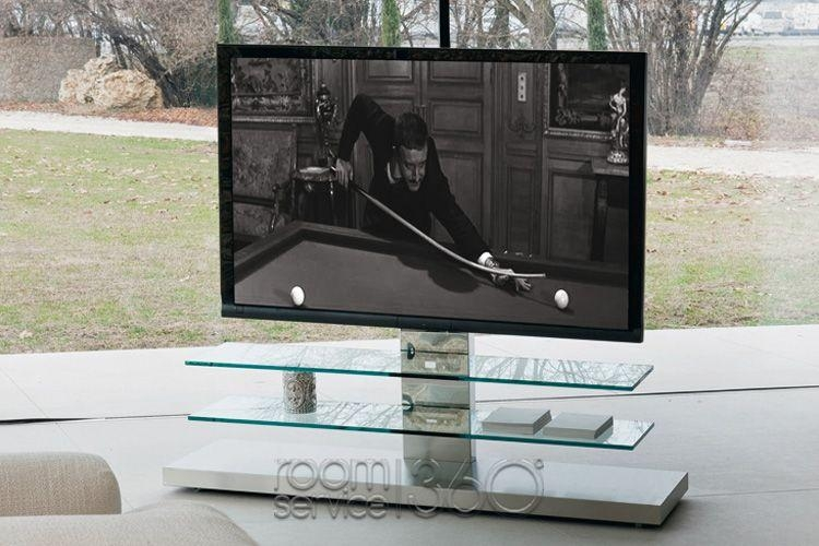 Panorama Height Adjustable Plasma Tv Standcattelan Italia Regarding Current Panorama Tv Stands (Image 11 of 20)