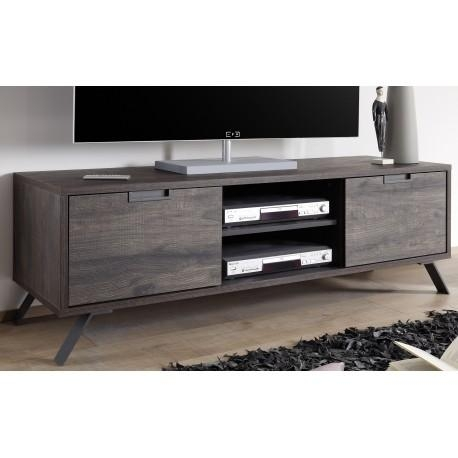 Parma Ii Wenge Finish Tv Stand – Tv Stands – Sena Home Furniture Pertaining To Most Current Wenge Tv Cabinets (View 3 of 20)