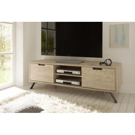 Parma Light Oak Tv Stand – Tv Stands – Sena Home Furniture Inside Most Recent Light Oak Tv Cabinets (View 7 of 20)