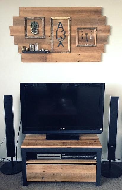Party Junk 202 – Cool Diy Tv Standsfunky Junk Interiors For Latest Funky Tv Stands (View 6 of 29)