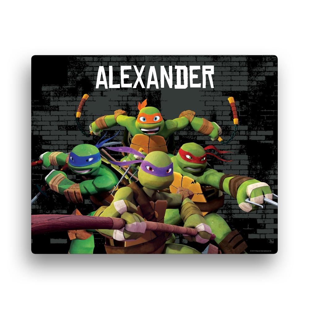 Party Supply Guide – Teenage Mutant Ninja Turtles Intended For Tmnt Wall Art (View 8 of 20)