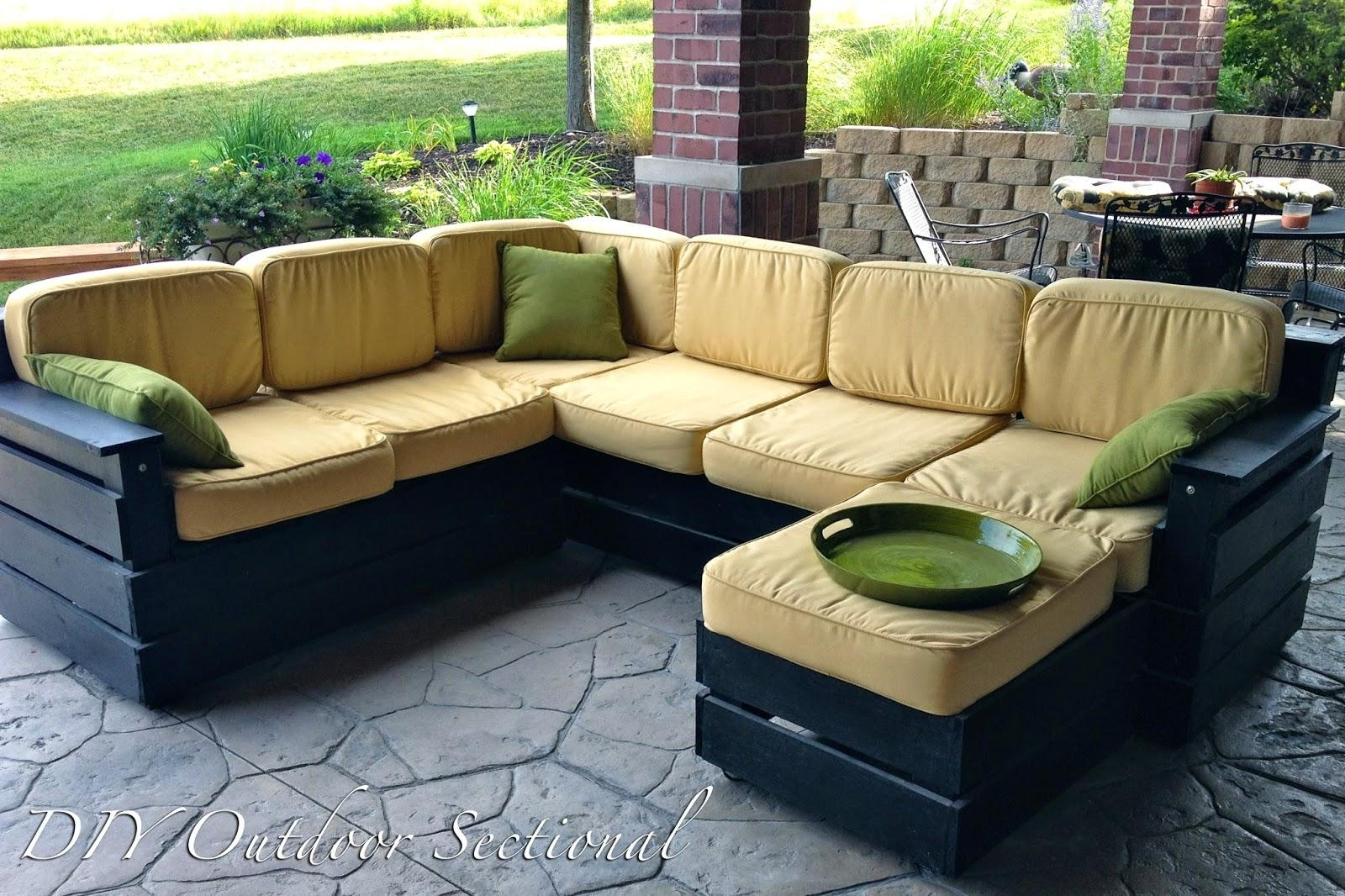 Patio, Diy Patio Sectional | Pythonet Home Furniture In Cheap Patio Sofas (View 14 of 22)