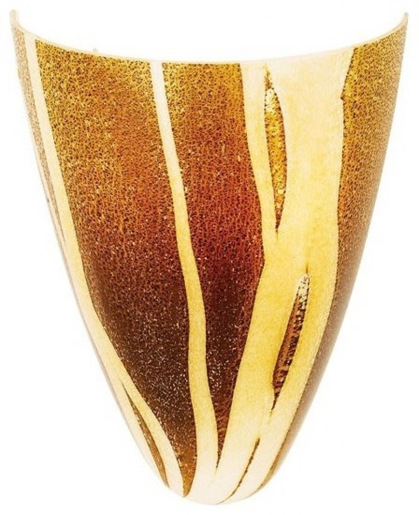Perfect Art Glass Wall Sconce Inspirations   Interior Decoration Intended For Italian Glass Wall Art (Image 15 of 20)