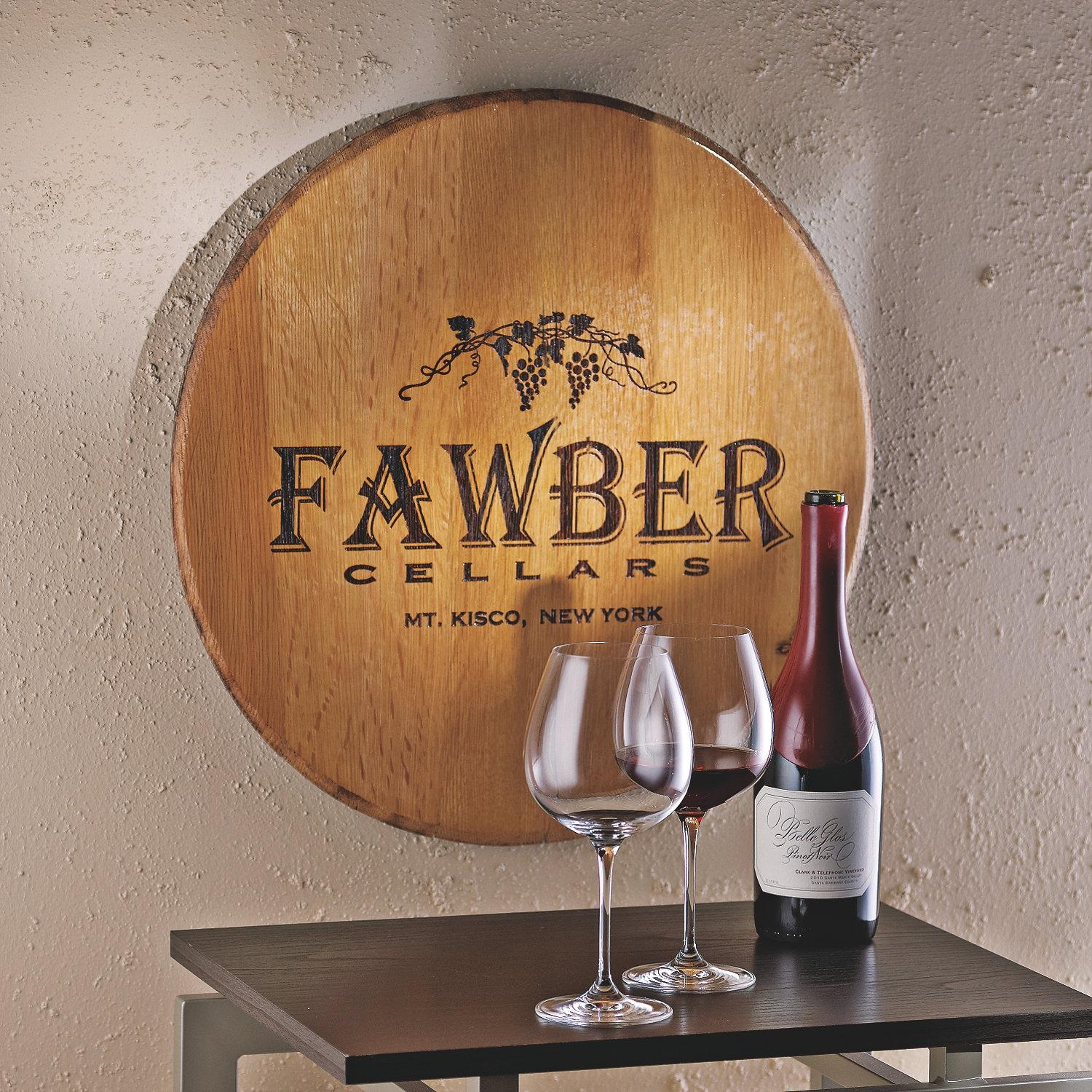Personalized Signs & Wall Décor | Personalized Décor | Housewares In Wine Barrel Wall Art (Image 6 of 20)