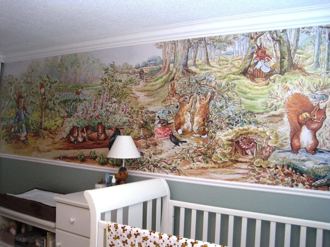 20 Best Peter Rabbit Nursery Wall Art Wall Art Ideas