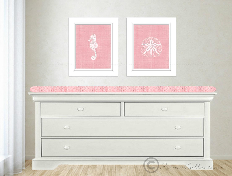 Pink Beach Themed Wall Art Best House Design : Beach Themed Wall For Beach Themed Wall Art (View 14 of 20)