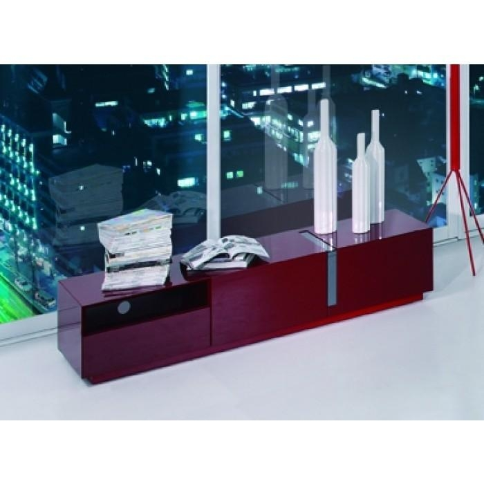 Pisa Modern Red Tv Stand Within 2017 Red Modern Tv Stands (View 18 of 20)