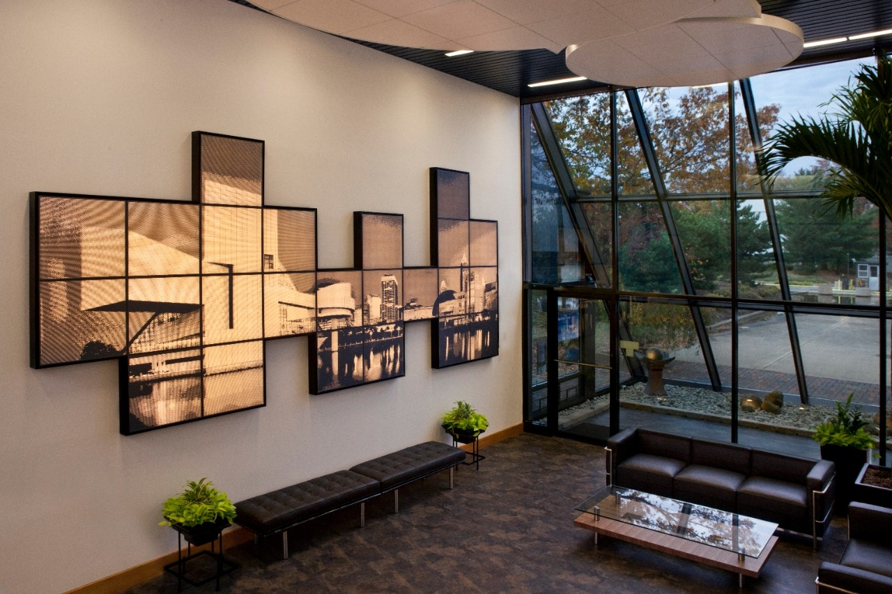 Pixels™ Wall Mounted Panels Within Backlit Wall Art (View 20 of 20)