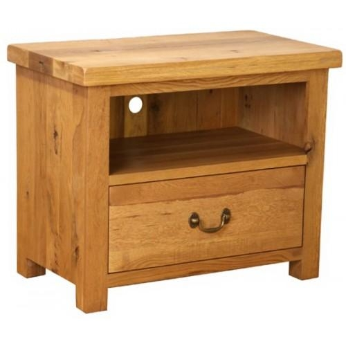 """Plantation Oak"""" Small Tv Cabinet Intended For Most Up To Date Small Tv Cabinets (View 11 of 20)"""
