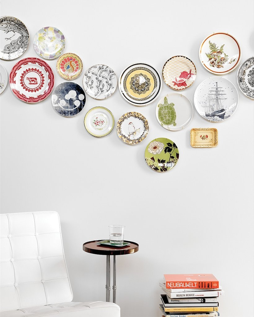 Plate Wall Decor Diy | Popsugar Home In Decorative Plates For Wall Art (View 9 of 20)