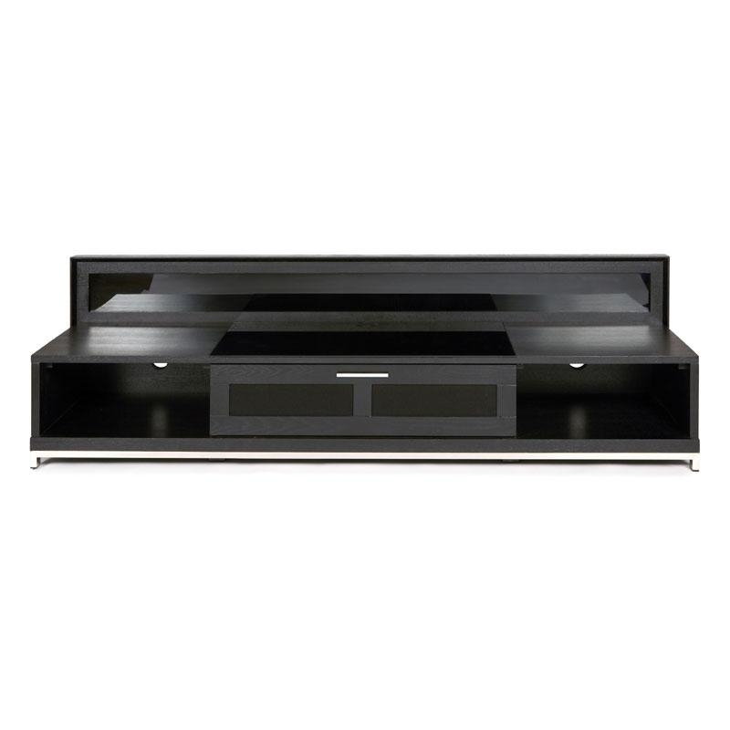 Plateau Valencia Series Backlit Modern Wood Tv Stand For 51 80 Inside Best And Newest 80 Inch Tv Stands (Image 10 of 20)