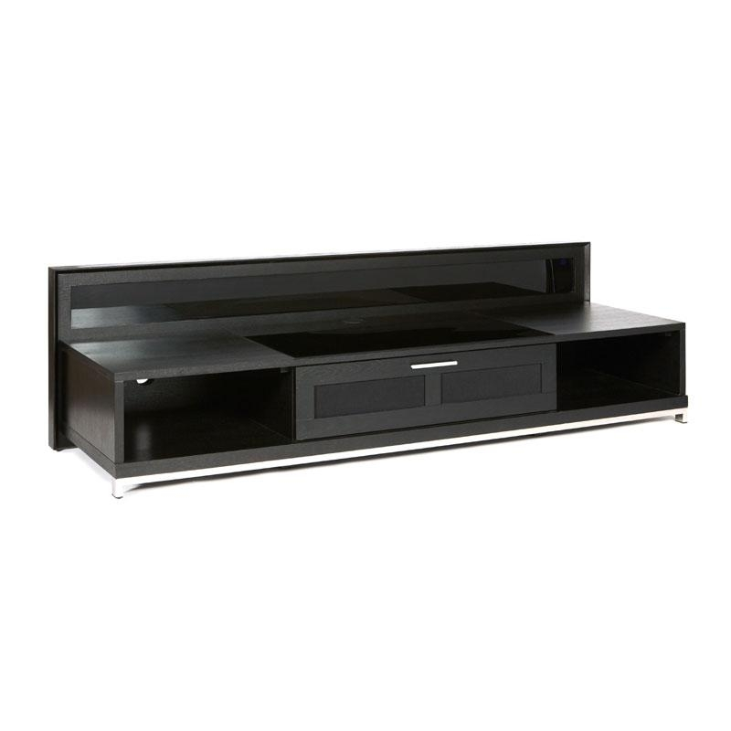 Plateau Valencia Series Backlit Modern Wood Tv Stand For 51 80 Regarding Most Current 80 Inch Tv Stands (View 3 of 20)
