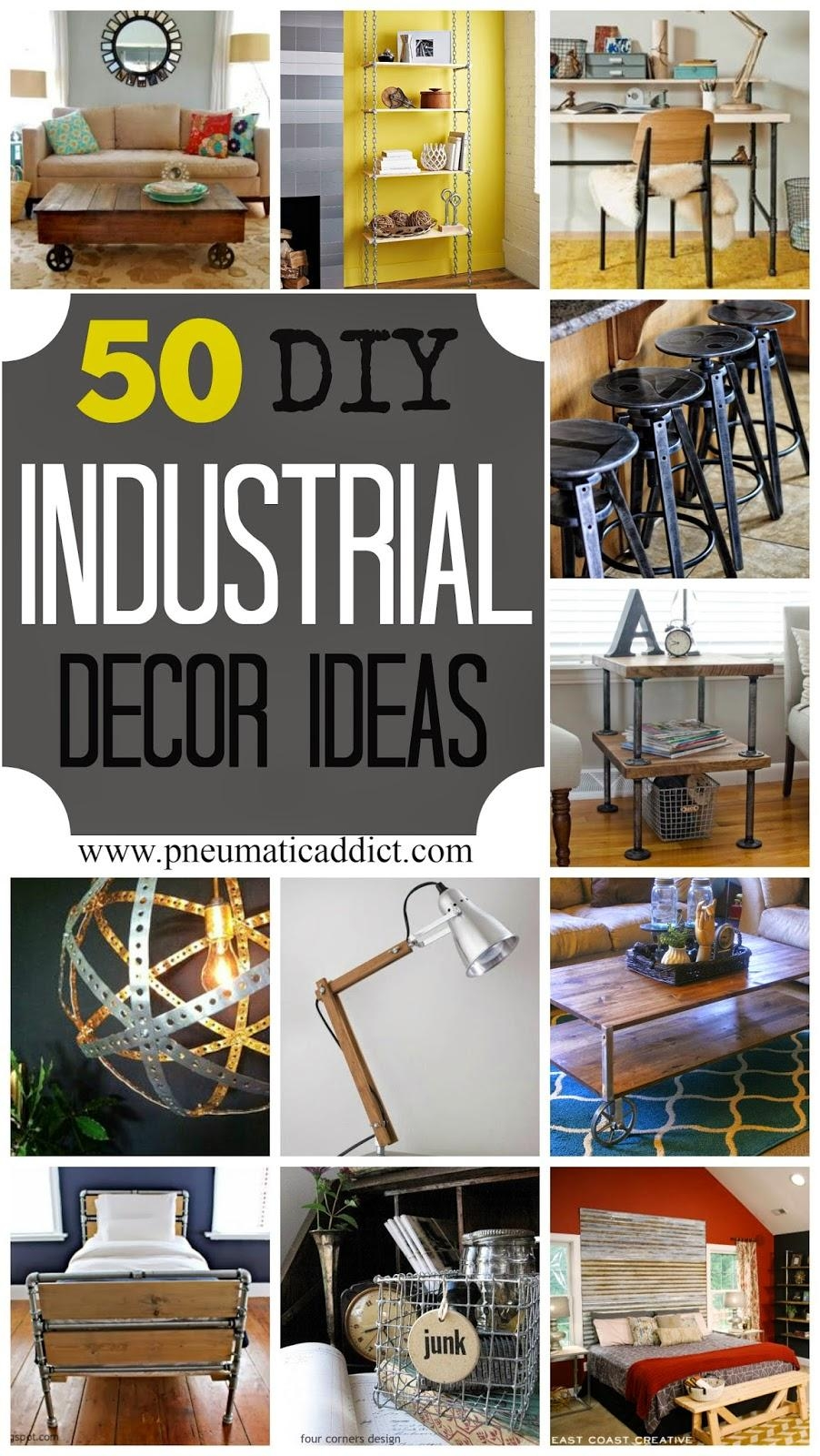 Featured Photo of Diy Industrial Wall Art