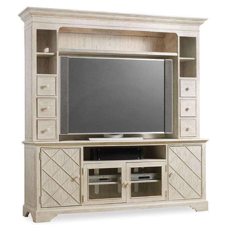 Point Weathered Wood Tv Stand Hutch Intended For 2017 Light Colored Tv Stands (View 11 of 20)