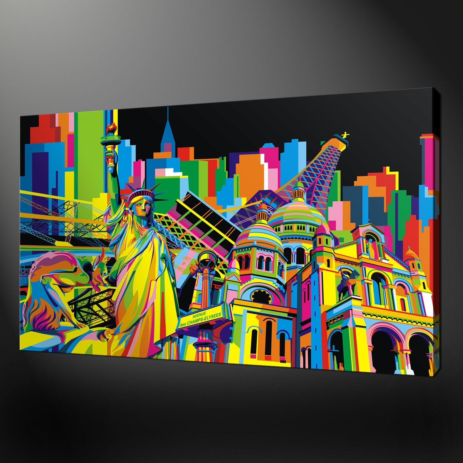 Pop Art Wall Com 2017 Including Mural Pictures Simple Designing Intended For Abstract Art Wall Murals (View 8 of 20)