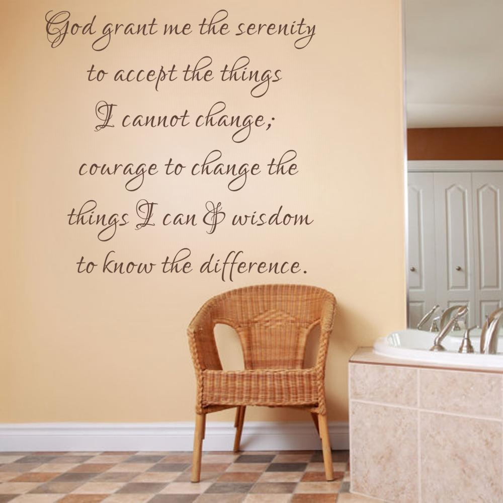 Popular Bible Verses Vinyl Wall Art Buy Cheap Bible Verses Vinyl For Scripture Vinyl Wall Art (View 8 of 20)