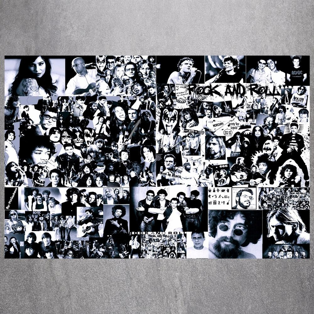 Popular Rock And Roll Wall Art Canvas Buy Cheap Rock And Roll Wall Intended For Rock And Roll Wall Art (View 2 of 20)
