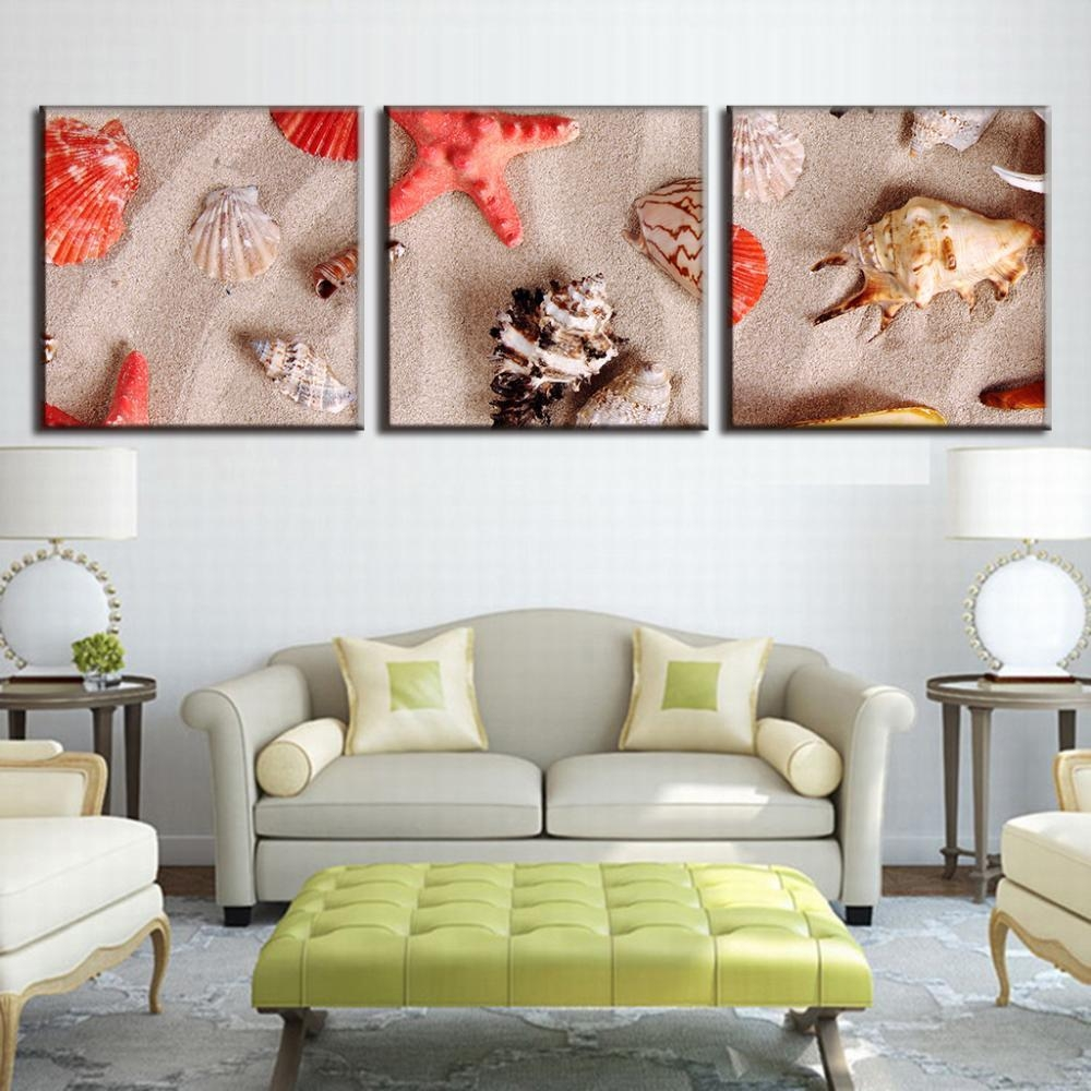 Featured Photo of Seashell Prints Wall Art