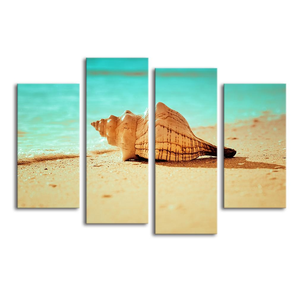 Popular Seashell Art Prints Buy Cheap Seashell Art Prints Lots With Regard To Seashell Prints Wall Art (View 16 of 20)