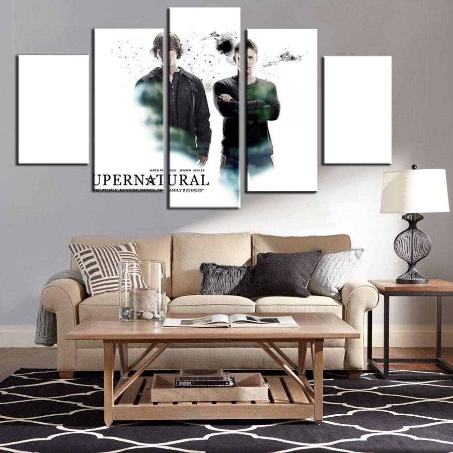 Popular Supernatural Wall Art Buy Cheap Supernatural Wall Art Lots Intended For Supernatural Wall Art (Image 17 of 20)