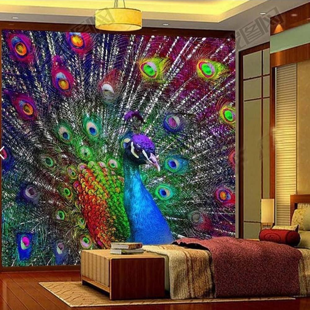 Popular Wall Mural Abstract Colorful Buy Cheap Wall Mural Abstract With Regard To Abstract Art Wall Murals (View 6 of 20)