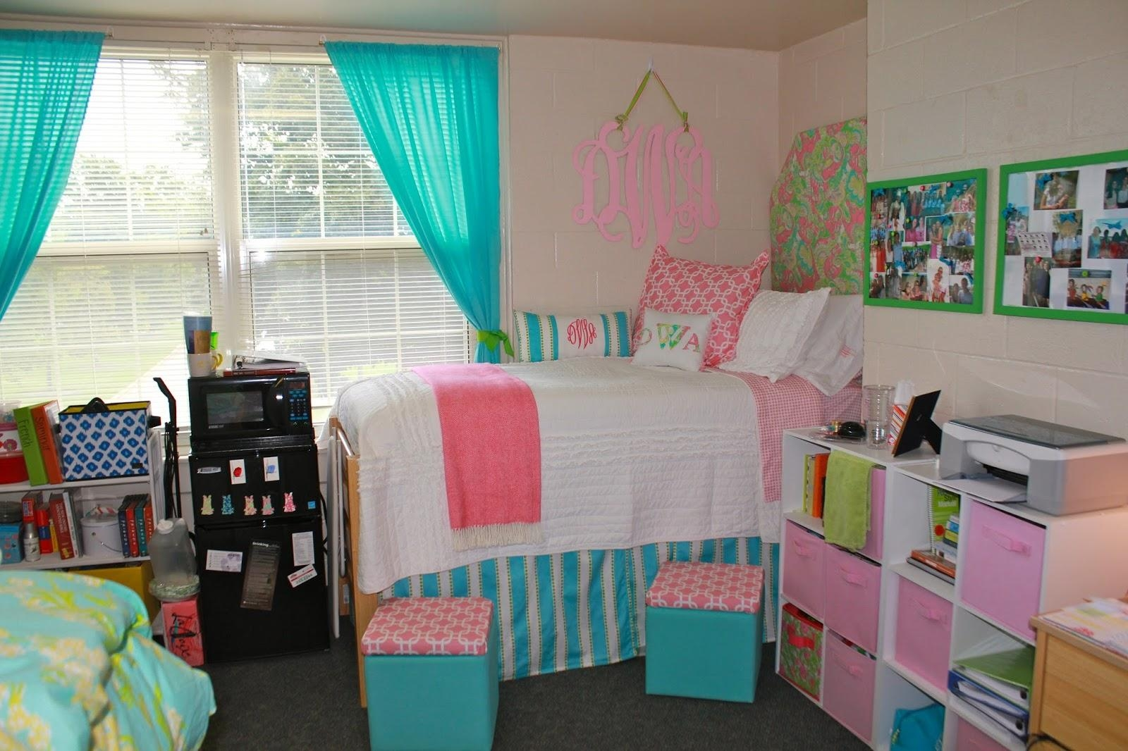 Prep In Your Step: My Dorm Room Throughout Wall Art For College Dorms (Image 20 of 20)