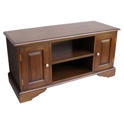 "Prestington Mahogany Tv Stand For Tvs Up To 60"" & Reviews With Regard To Newest Mahogany Tv Stands (Image 19 of 20)"